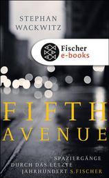 Fifth Avenue - Spaziergänge durch das letzte Jahrhundert
