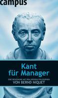 Bernd Niquet: Kant für Manager ★★★★