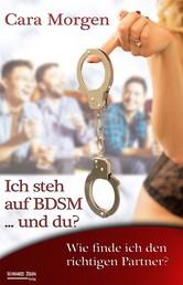 Ich steh auf BDSM ... und du? Band 2 - Wie finde ich den richtigen Partner?