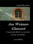 August Diezmann: Aus Weimars Glanzzeit
