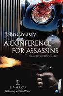 John Creasey: A Conference For Assassins