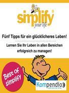 Ruth Drost-Hüttl: simplify your life ★★★