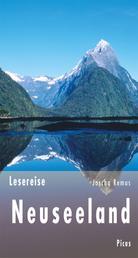 Lesereise Neuseeland - Der Kuss der langen weißen Wolke