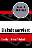 Donald Hamilton: Eiskalt serviert ★★★