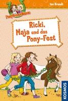 Ina Brandt: Ponyfreundinnen, 5, Ricki, Maja und das Pony-Fest ★★★★★