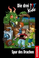 Ulf Blanck: Die drei ??? Kids, 58, Spur des Drachen (drei Fragezeichen Kids) ★★★★