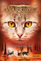 Erin Hunter: Warrior Cats - Die Macht der drei. Sonnenaufgang ★★★★★