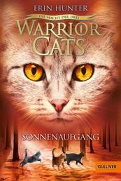 Warrior Cats - Die Macht der drei. Sonnenaufgang - III, Band 6