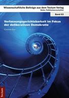Corinne Duc: Verfassungsgerichtsbarkeit im Fokus der deliberativen Demokratie