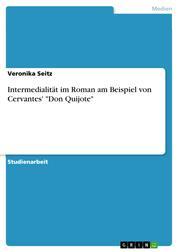 """Intermedialität im Roman am Beispiel von Cervantes' """"Don Quijote"""""""