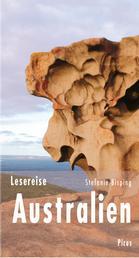 Lesereise Australien - Cocktails mit Kängurus