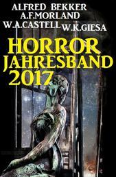 Horror Jahresband 2017