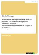 Kathrin Niemczyk: Immaterielle Vermögensgegenstände im digitalen Zeitalter. Eine Analyse der handelsrechtlichen Behandlungsmöglichkeiten im Vergleich zu den IFRS