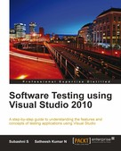 Satheesh Kumar N: Software Testing using Visual Studio 2010