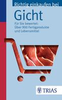 Karin Hofele: Richtig einkaufen bei Gicht