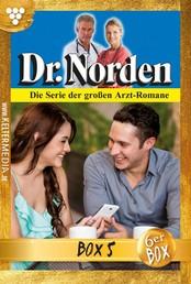 Dr. Norden (ab 600) Jubiläumsbox 5 – Arztroman - E-Book 624-629