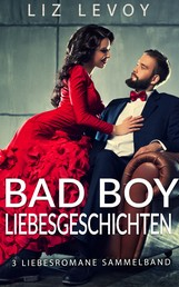 Bad Boy Liebesgeschichten - 3 Liebesromane Sammelband