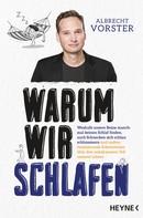 Albrecht Vorster: Warum wir schlafen ★★★★