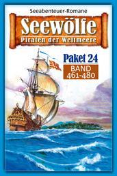 Seewölfe Paket 24 - Seewölfe - Piraten der Weltmeere, Band 461 bis 480