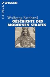 Geschichte des modernen Staates - Von den Anfängen bis zur Gegenwart