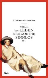 Warum ein Leben ohne Goethe sinnlos ist
