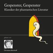 Gespenster, Gespenster - Die Klassiker der phantastischen Literatur gelesen von Christiane Blumhoff und Mathias Kahler