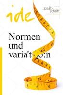: Normen und Variation