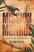 Taylor Stevens: Mission Munroe. Die Spezialistin ★★★★