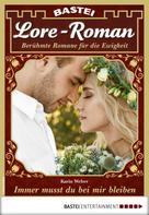 Karin Weber: Lore-Roman 79 - Liebesroman