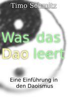 Timo Schmitz: Was das Dao leert ★★★★