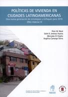 Peter M, Ward: Políticas de vivienda en ciudades latinoamericanas
