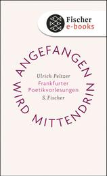 Angefangen wird mittendrin - Frankfurter Poetikvorlesungen