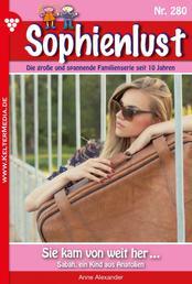 Sophienlust 280 – Familienroman - Sie kam von weit her ...