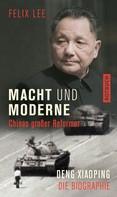Felix Lee: Macht und Moderne ★★★★★