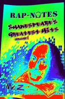 Mr. Z: Rap-Notes: Shakespeare's Greatest Hits, Vol. 1