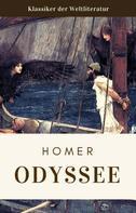 Homeros Homer: Homer - Odyssee