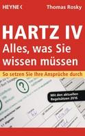 Thomas Rosky: Hartz IV – Alles, was Sie wissen müssen ★