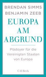 Europa am Abgrund - Plädoyer für die Vereinigten Staaten von Europa