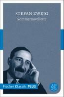 Stefan Zweig: Sommernovellette ★★★★★