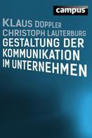 Klaus Doppler: Gestaltung der Kommunikation im Unternehmen