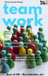 Teamwork Teamarbeit Teampsychologie Teamentwicklung - Mitarbeitermotivation Projektmanagement Personalführung für den gemeinsamen Erfolg, richtig kommunizieren als Teamleiter