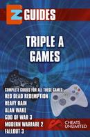 The Cheat Mistress: Triple A Games - red dead redemption - Heavy Rain - Alan wake -God of War 3 - Modern Warfare 3