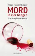 Klaus Ranzenberger: Mord in vier Gängen ★★★