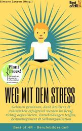 Weg mit dem Stress - Gelassen gewinnen, dank Resilienz & Achtsamkeit erfolgreich werden im Beruf, richtig organisieren, Entscheidungen treffen, Zeitmanagement & Selbstorganisation