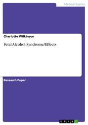 Fetal Alcohol Syndrome/Effects
