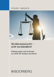 Strafprozessrecht – echt verständlich! - Erläuterungen und Schemata zur StPO für Studium und Beruf