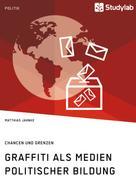 Matthias Jahnke: Graffiti als Medien politischer Bildung. Chancen und Grenzen