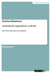 Ausländische Jugendliche in Berlin - Eine Übersicht über die Situation