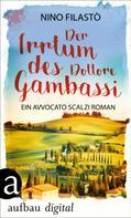 Nino Filastò: Der Irrtum des Dottore Gambassi ★★★