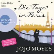 Die Tage in Paris (Ungekürzte Lesung)